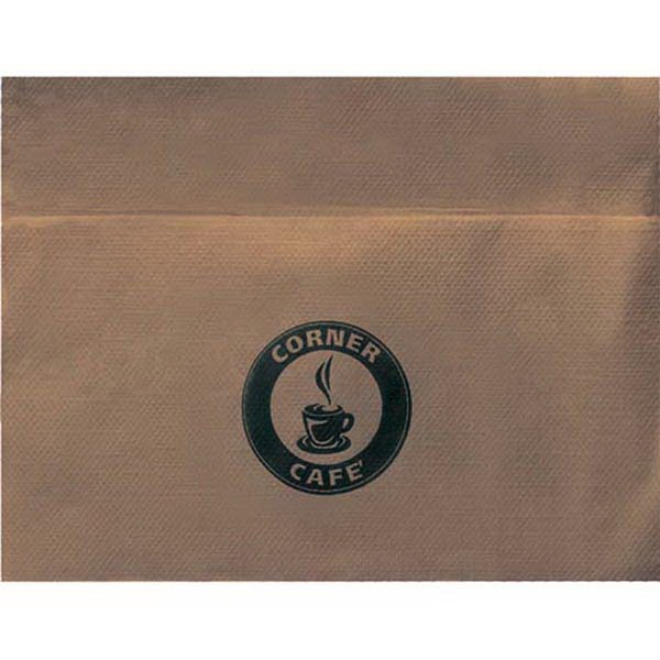 Customized Unbleached Single Ply 3/4 Fold Dispenser Napkin