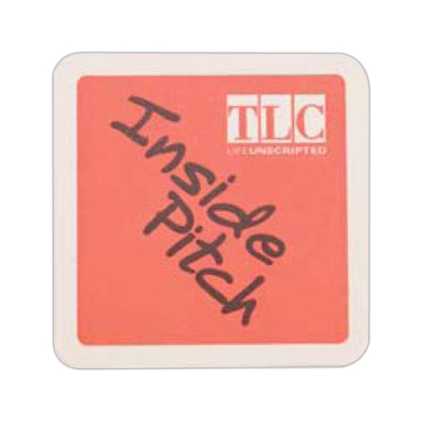 Customized White Square Coaster