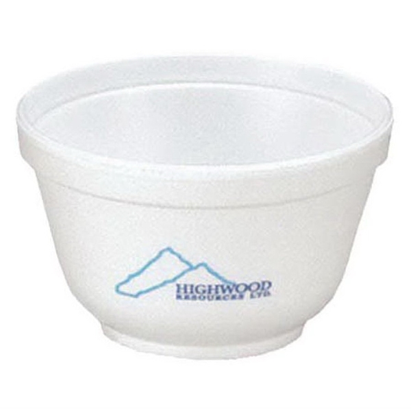 Promotional 6 oz. Foam Bowl
