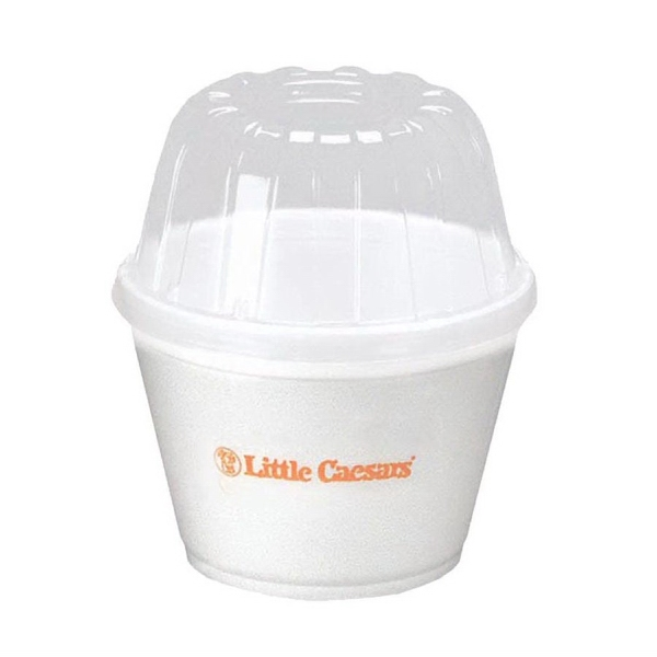 Customized 16 oz. To-Go Foam Container