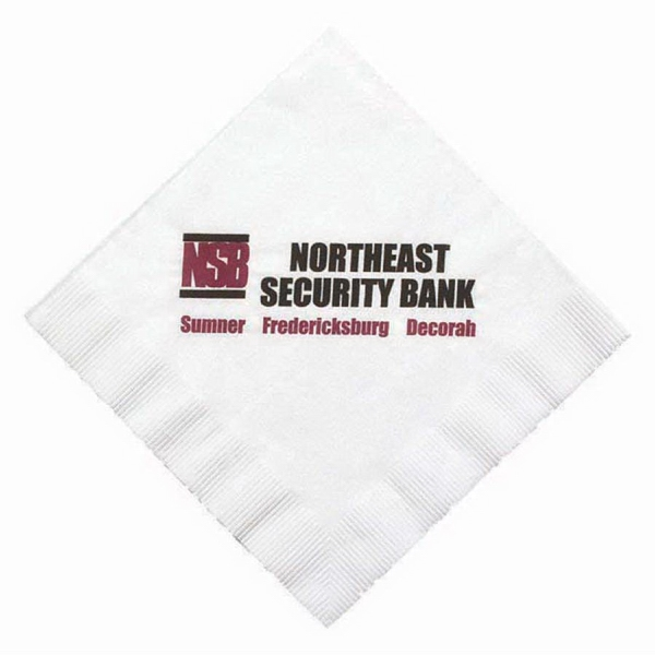 Personalized One Ply Luncheon Napkin