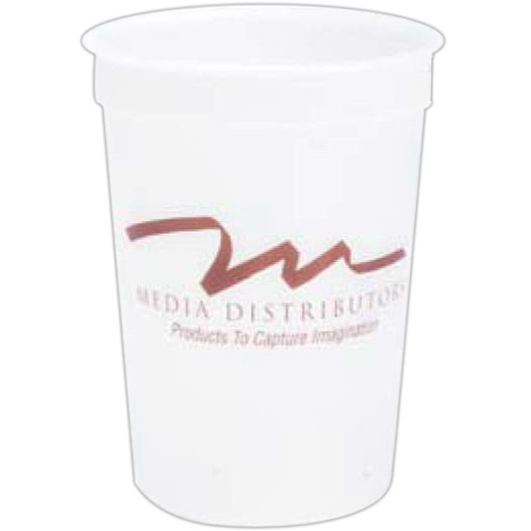 Customized 16 oz. Smooth Stadium Cup
