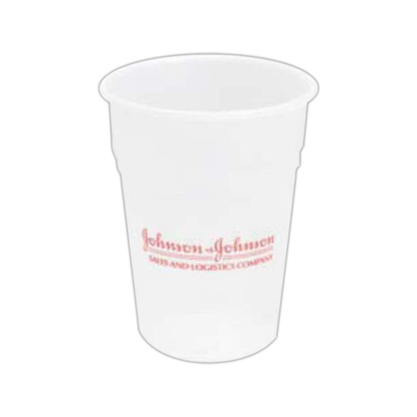 Promotional 10 oz. Translucent Cup