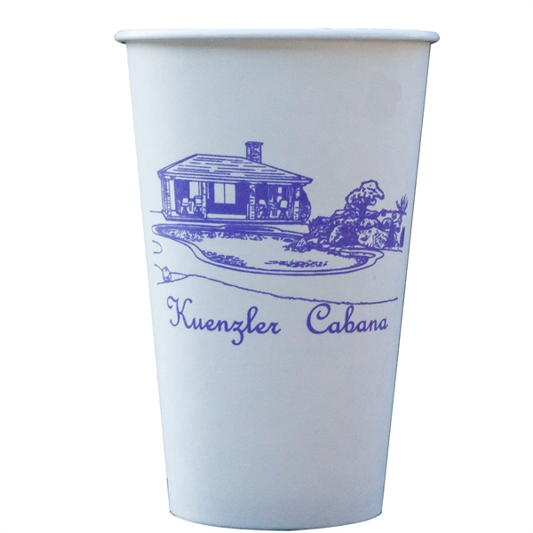 Promotional 16 oz. Paper Cup