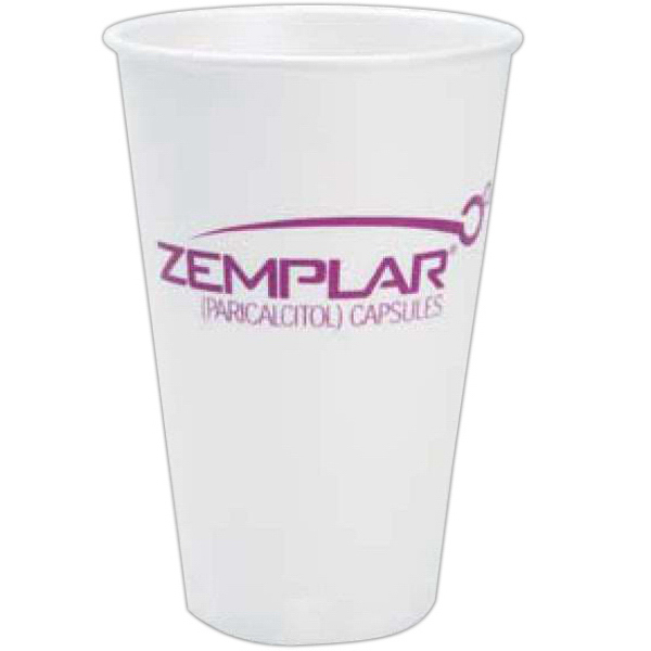 Custom 16 oz. Trophy(R) Beverage Cups (Hot or Cold)