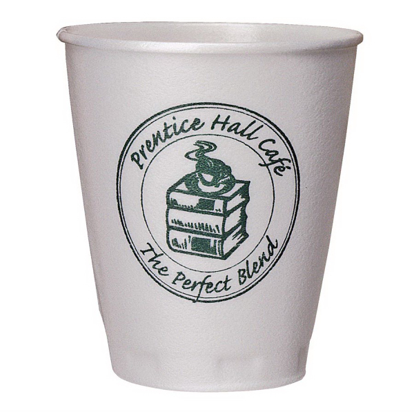 Promotional 8 oz. Trophy(R) Beverage Cups (Hot or Cold)