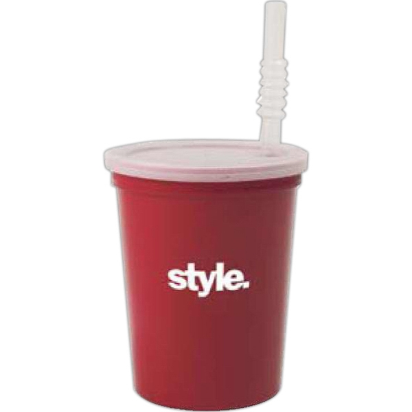 "Customized 7"" Stadium Cup Straw"