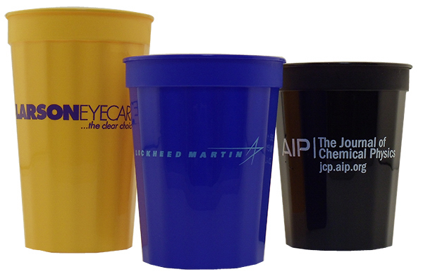 Customized 22 oz. Fluted Stadium Cup