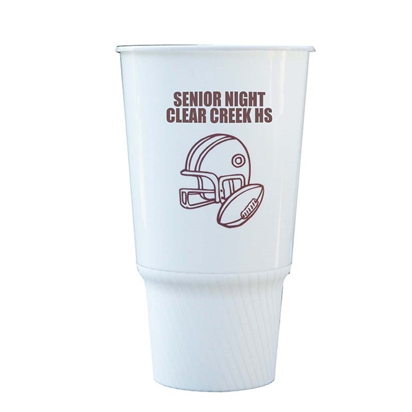 Personalized 32 oz. Traveler Stadium Cup