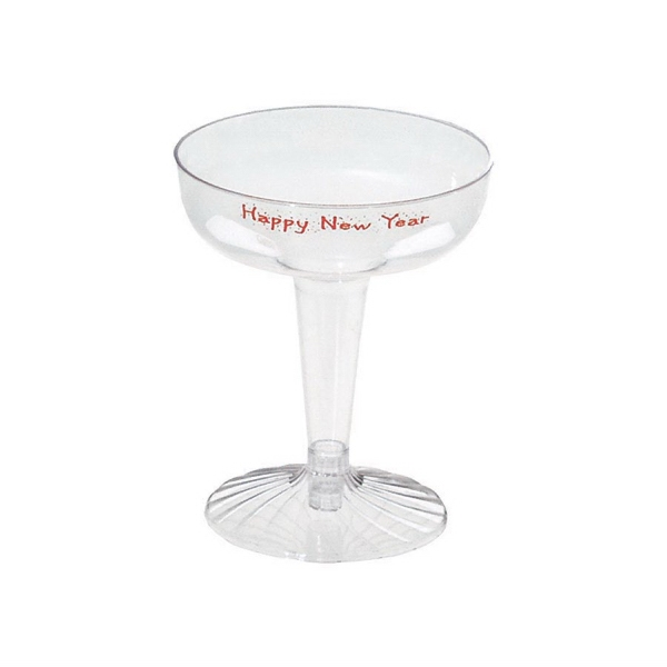 Printed Champagne Glass