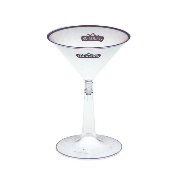 Imprinted Martini Glass