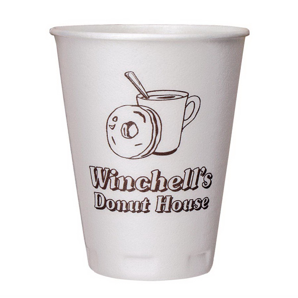 Promotional 12 oz. Trophy(R) Beverage Cups (Hot or Cold)