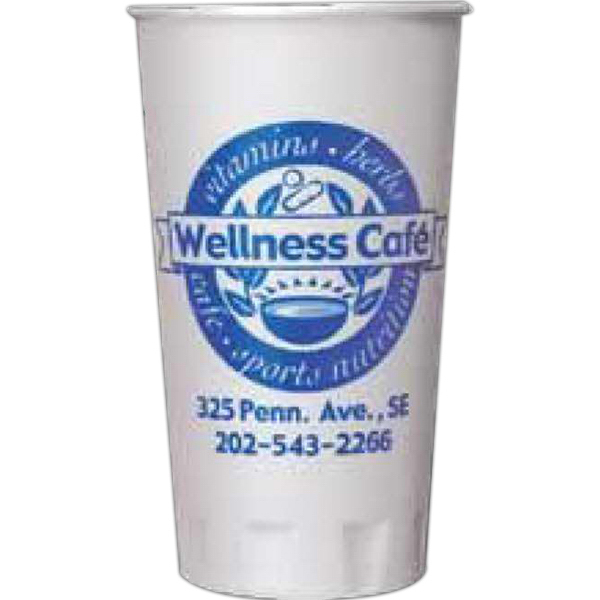 Customized 20 oz. Trophy(R) Beverage Cups (Hot or Cold)