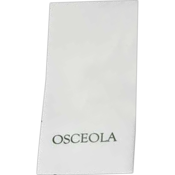Promotional Lasting Impression White Hand Towel