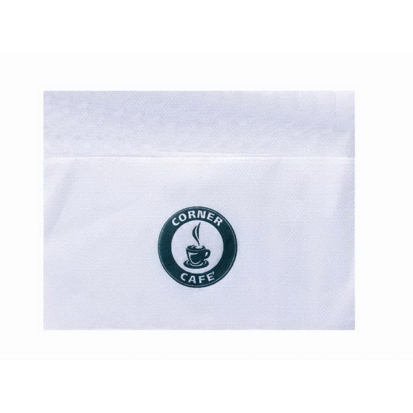 Promotional Bleached Single Ply Dispenser Napkin