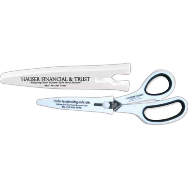 Personalized Snap-on scissors sheath
