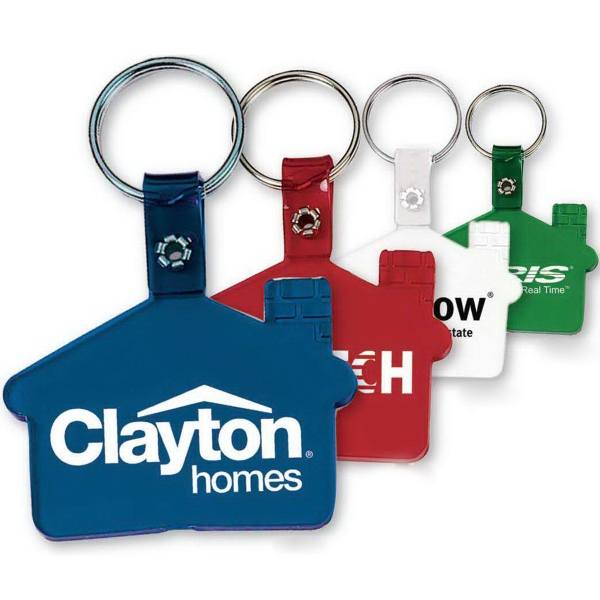 Imprinted Soft Vinyl House Tag