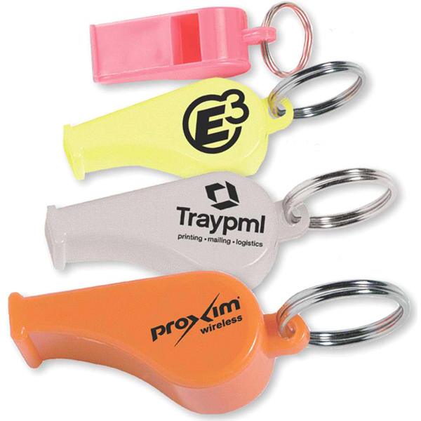 Customized Whistle key ring