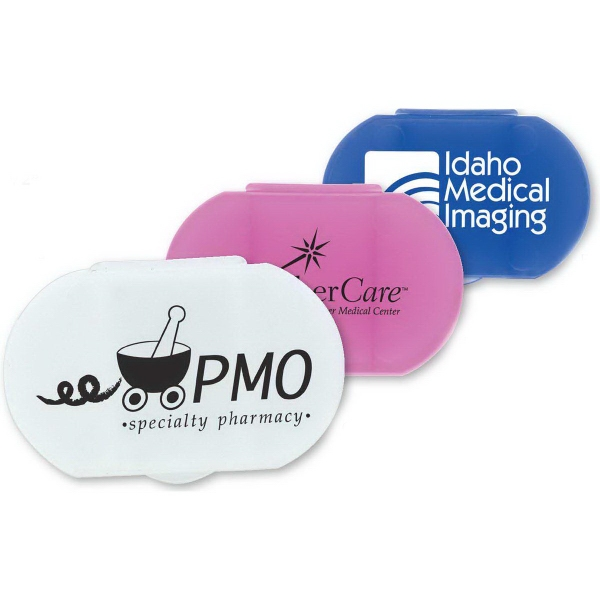 Personalized Oval Pill Box