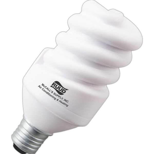 Imprinted Eco-Light Bulb Stress Ease