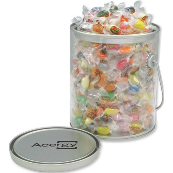 Imprinted Pail of Sweets with Jelly Belly