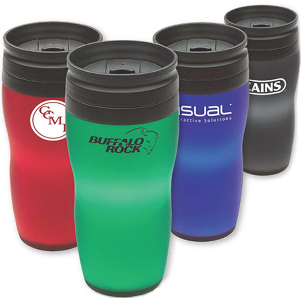 Personalized 16 oz Soft touch tumbler