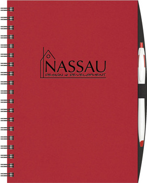 Personalized NEW ITEM! - Express NoteBook (TM)  Medium w/PenPort