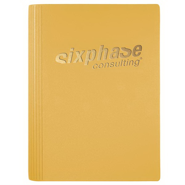Personalized Small LeatherWrap (TM) NotePad