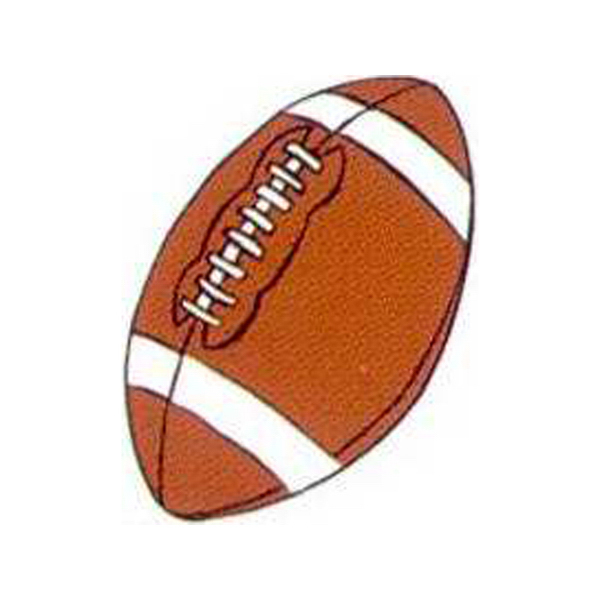Imprinted Temporary Football tattoos
