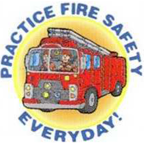 Personalized Temporary Fire Truck - Practice Fire Safety Everyday Tattoos