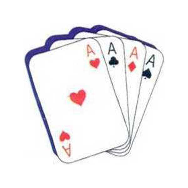 Promotional Temporary Ace cards tattoos