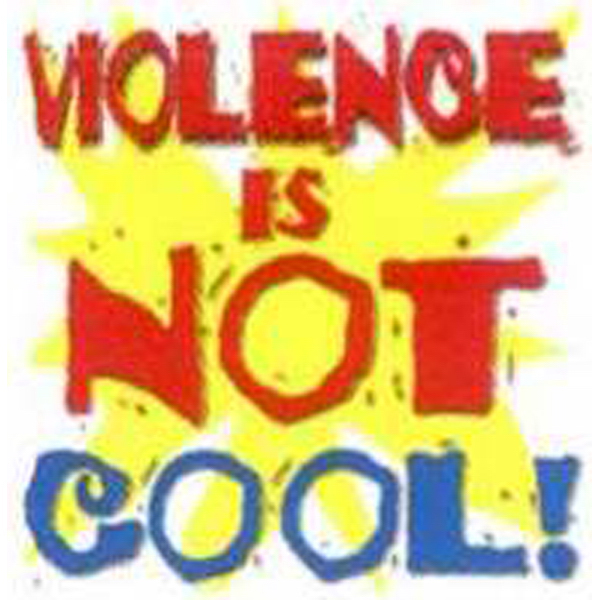 Printed Temporary Violence is Not Cool! Tattoos