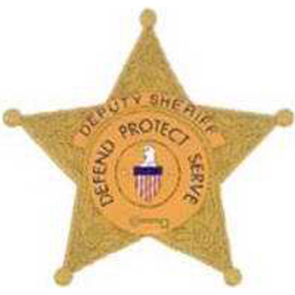 Promotional Temporary Sheriff's Badge Tattoos
