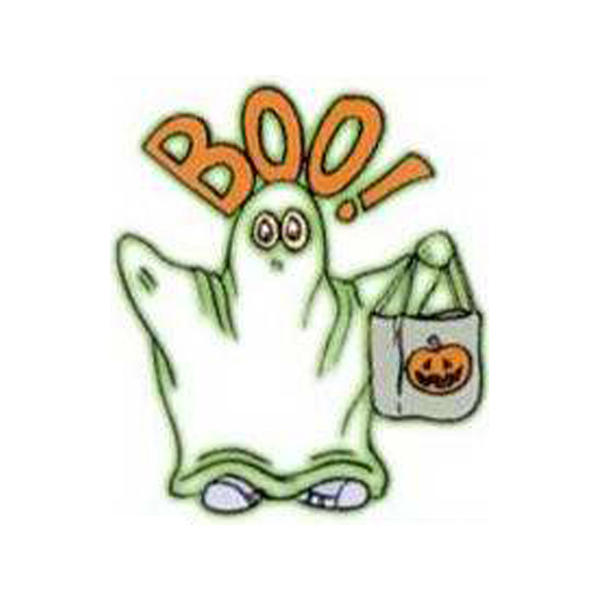 Customized Temporary BOO! Ghost Glow tattoos