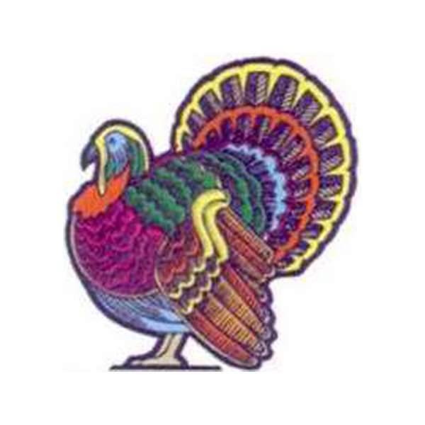 Printed Temporary Turkey Tattoo