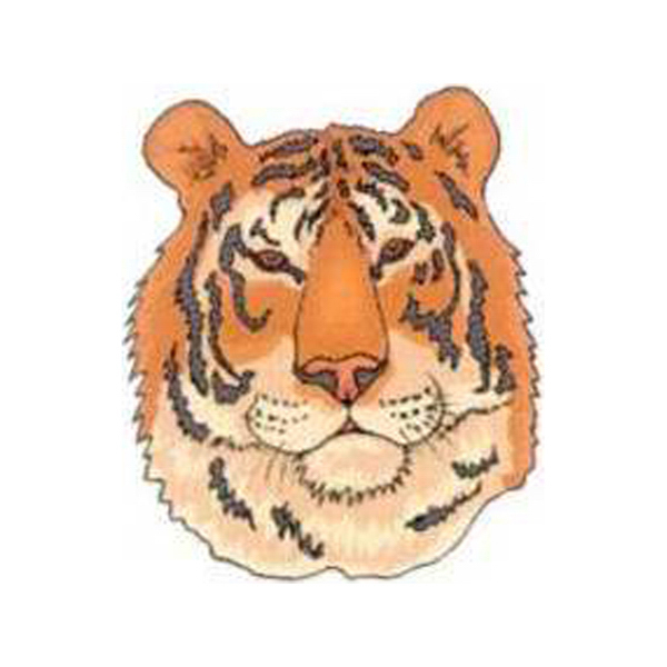 Promotional Temporary Tiger Head tattoos