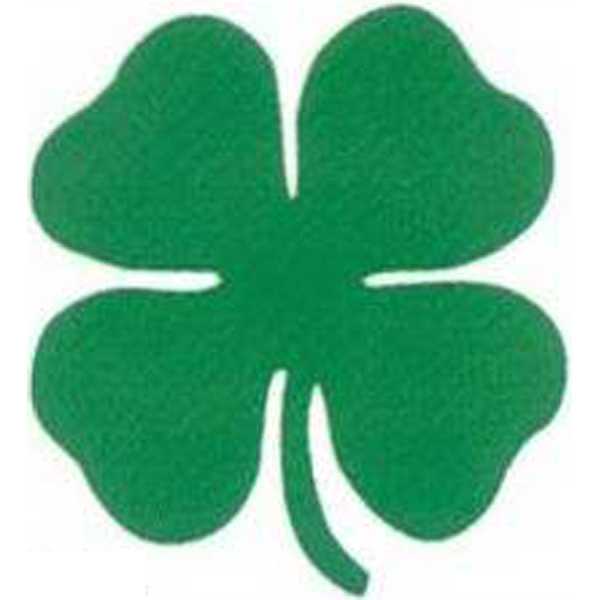 Customized Temporary Shamrock Tattoo