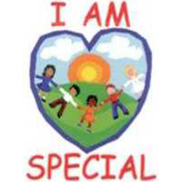 "Personalized Temporary ""I Am Special"" with child's drawing Tattoos"
