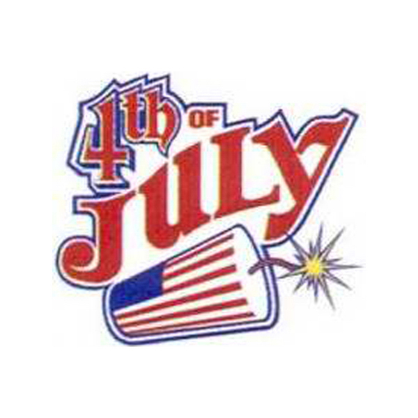 """Customized Temporary Firecracker with """"4th of July"""" Tattoo"""