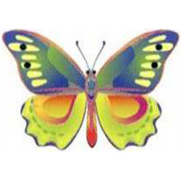 Printed Temporary Light Colors Butterfly Tattoos