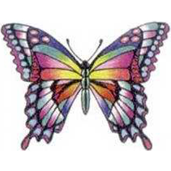 Personalized Temporary Swallowtail Butterfly Tattoos