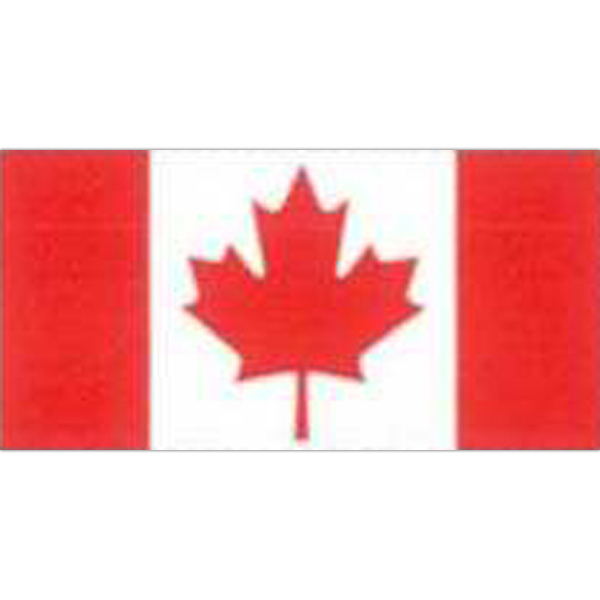Printed Temporary Canadian Flag Tattoos