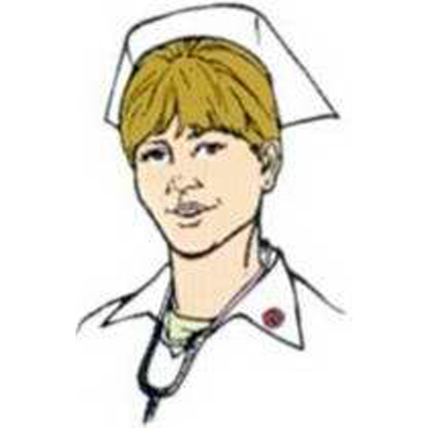 Custom Temporary Woman Nurse's Head Tattoos