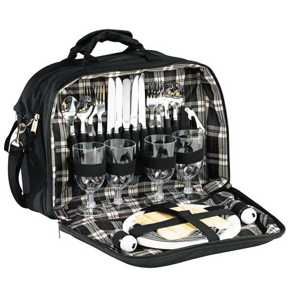 Imprinted Picnic Set For Four
