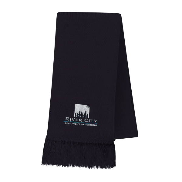 Promotional USA Made Scarf with Fringe