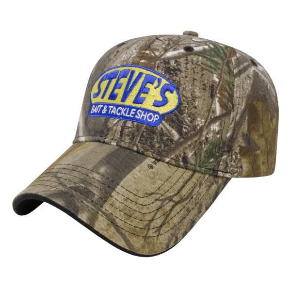 Personalized Two-Tone Camo Cap