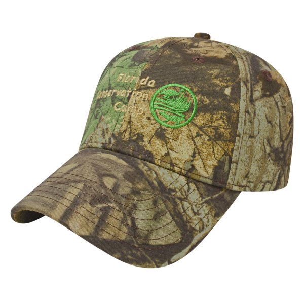 Imprinted Youth Camo Cap