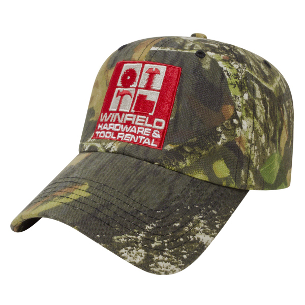 Promotional Six Panel Camo Cap