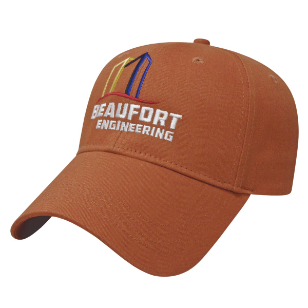 Imprinted Lightweight Low Profile Cap