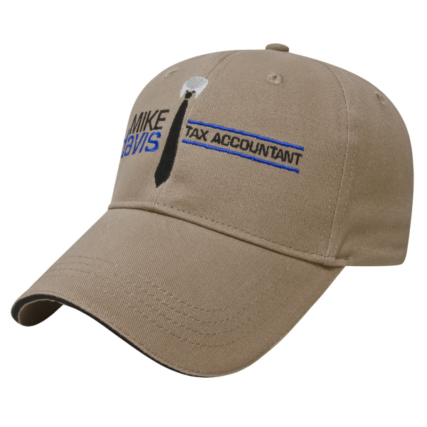 Personalized Sandwich Visor Cap